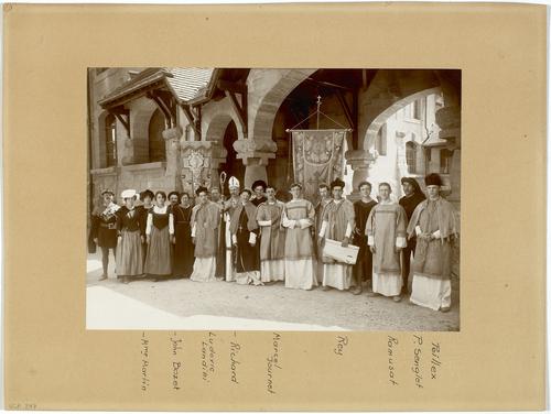 Genève, fêtes du Centenaire: groupe d'Adhémar Fabri à Sécheron