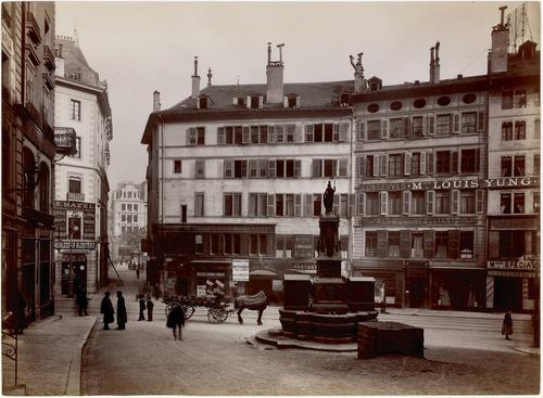 Genève, rue de la Cité