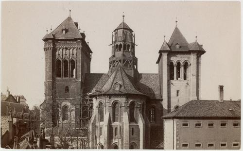 Genève, vue arrière de la cathédrale