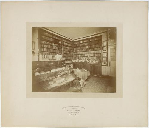Genève, place du Grand-Mézel: bibliothèque de Charles le Fort