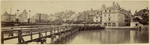 Morges, vue du débarcadère