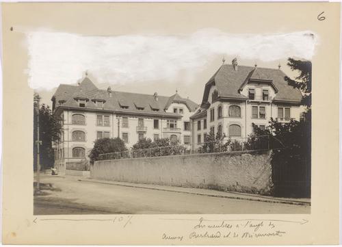 Genève, avenue de Miremont