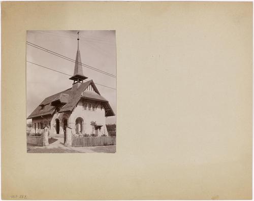 Chancy, route de Lancy: chapelle protestante