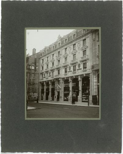 Genève, immeuble rue du Rhône numéro 2