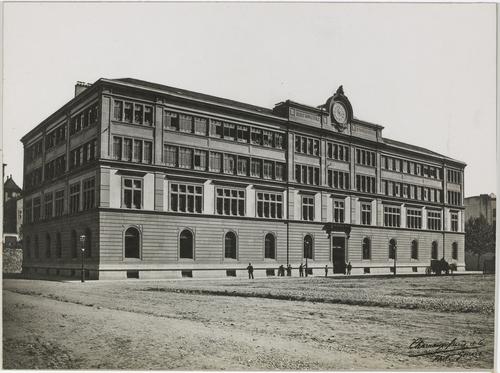 Genève, rue Necker: école d'horlogerie