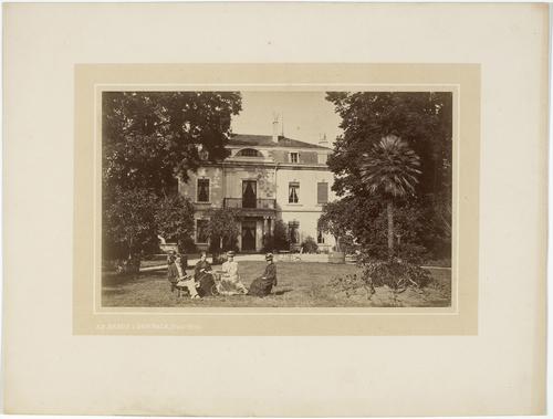 Cartigny, route de Vallière: château