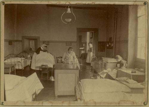 Genève, rue Gourgas: hôpital des enfants malades