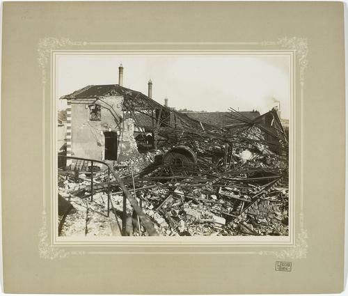 Genève, après l'explosion de l'usine à gaz
