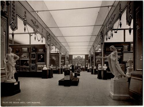 Genève, Exposition nationale: section d'art moderne au palais des Beaux-Arts