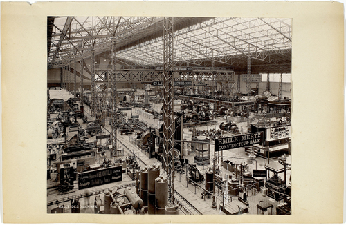 Genève, Exposition nationale: halle des machines