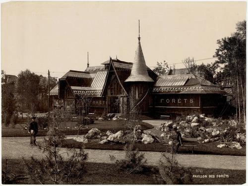 Genève, Exposition nationale: pavillon des forêts
