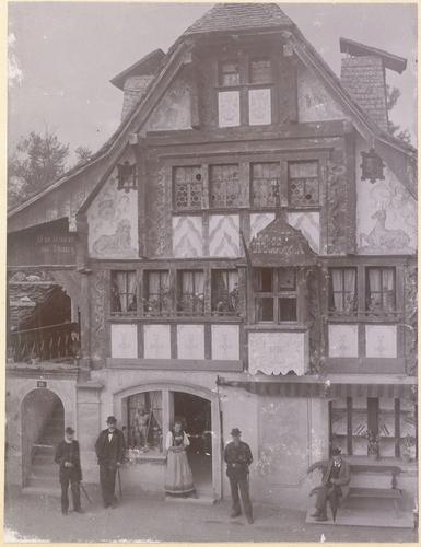 Genève, Exposition nationale: la maison de Stans au village suisse