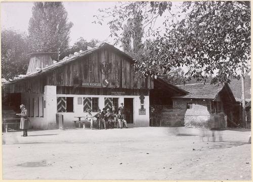 Genève, Exposition nationale: auberge neuchâteloise au village suisse