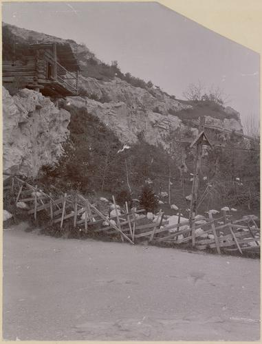 Genève, Exposition nationale: la montagne du village suisse