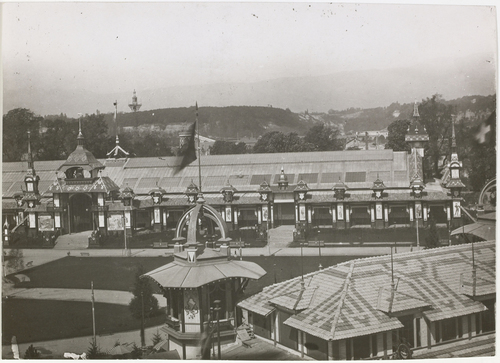 Genève, Exposition nationale: palais des Beaux-Arts