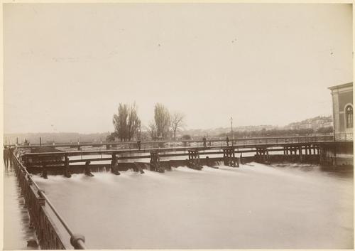 Genève, pont de la Machine