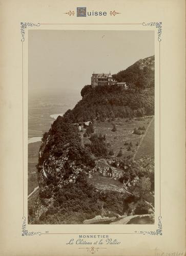 Haute-Savoie, Monnetier: le château