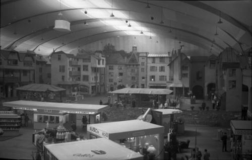 Genève, palais des expositions: intérieur au cours du salon «La Maison genevoise»