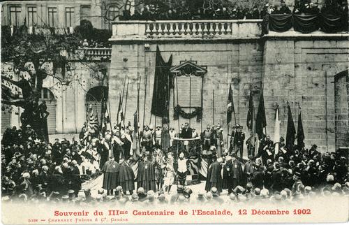 Genève, souvenir du tricentenaire de l'Escalade