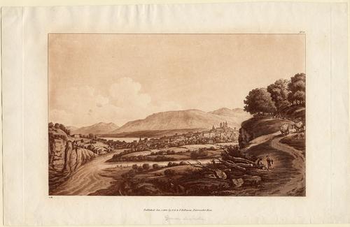 Genève, la Jonction et la ville, vue prise du Bois-de-la-Bâtie