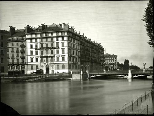 Genève, Grand hôtel de Russie et Continental
