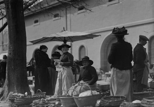 Genève, marché de Rive