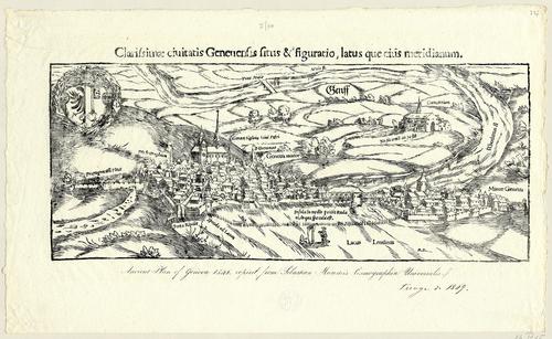 Genève vue du nord