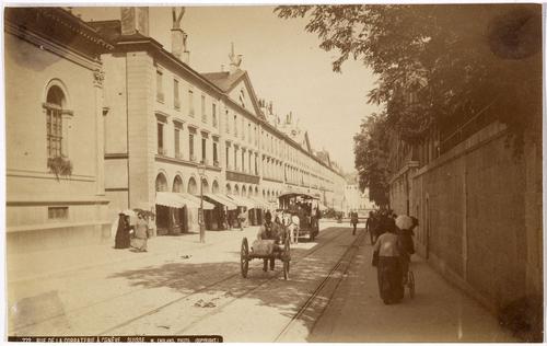 Genève, rue de la Corraterie