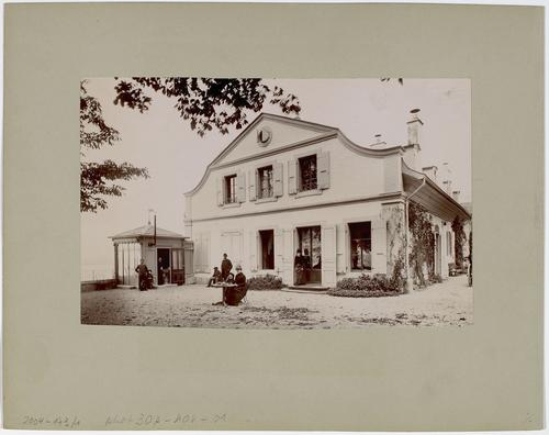 Cologny, chemin de Ruth: maison Naville-Gampert