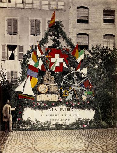 Genève, fêtes de commémoration du cinquantième anniversaire du rattachement à la Confédération