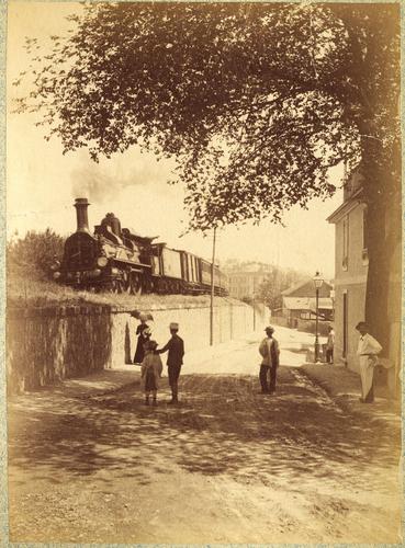 Genève, Saint-Jean: train à vapeur