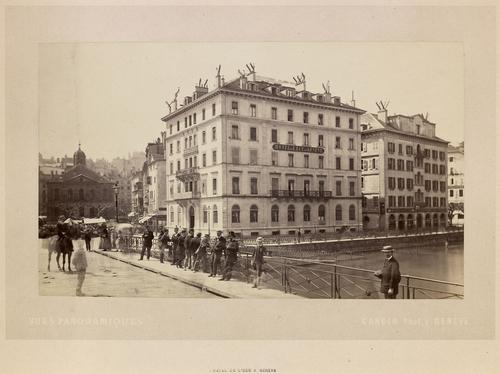 Genève, hôtel de l'Ecu