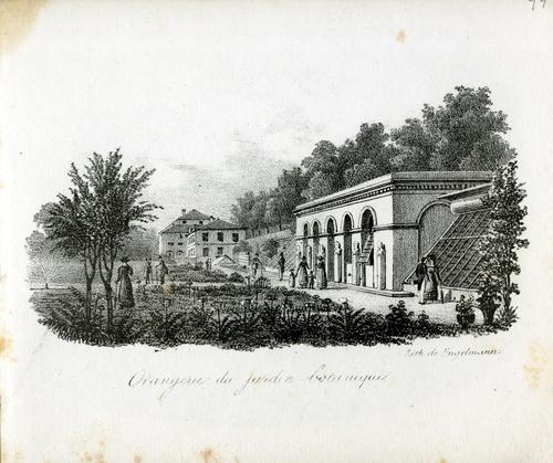 Genève, promenade des Bastions: orangerie du jardin botanique