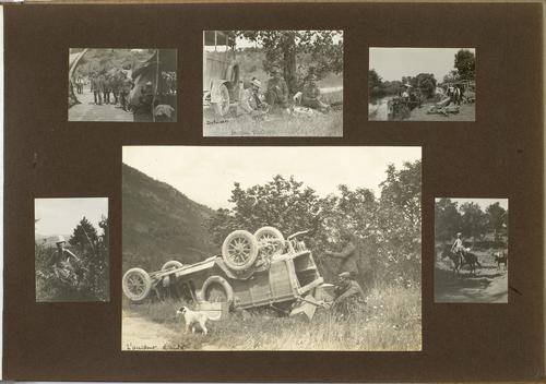 Accident d'automobile lors du deuxième voyage en Epire
