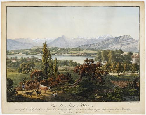 Genène, vue prise de Montbrillant