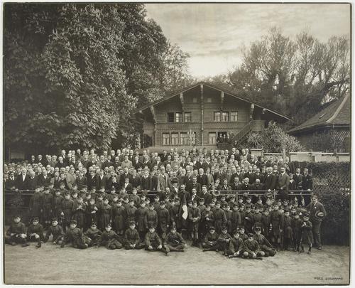 Genève, parc des Eaux-vives: centenaire de l'école Privat
