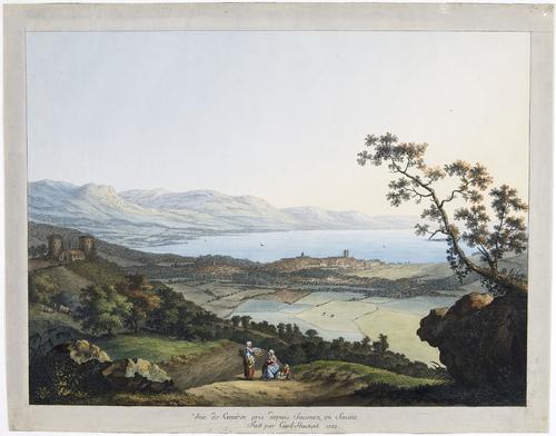 Vue de Genève prise de Saconnex d'Arve