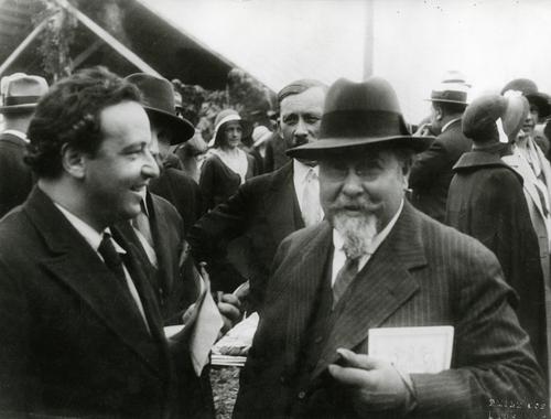 Emile Jaques-Dalcroze (1865-1950) et Arthur Honegger (1892-1955)
