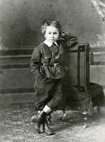 Emile Jaques-Dalcroze (1865-1950) enfant