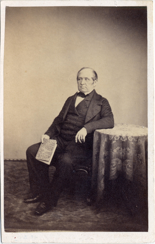 Portrait de Louis Burnier, pasteur