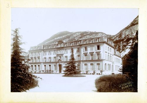 Haute-Savoie, Etrembières: pensionnat des Fidèles Compagnes de Jésus