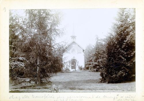 Haute-Savoie, Etrembières: pensionnat des Fidèles Compagnes de Jésus (chapelle extérieure)