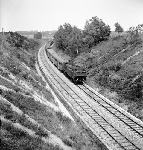 Ligne Lyon-Genève (km 156,8) entre Satigny et Russin