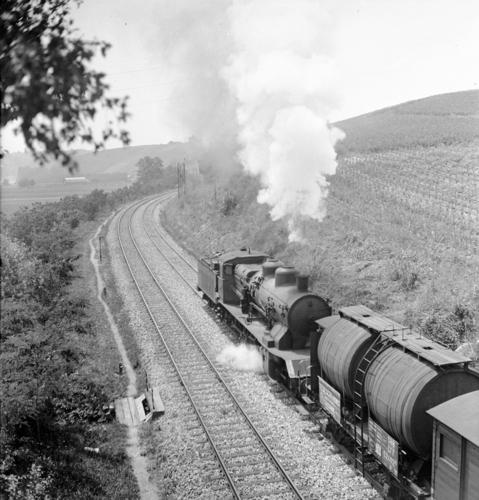 Ligne Lyon-Genève (km 155,6) entre Russin et Satigny