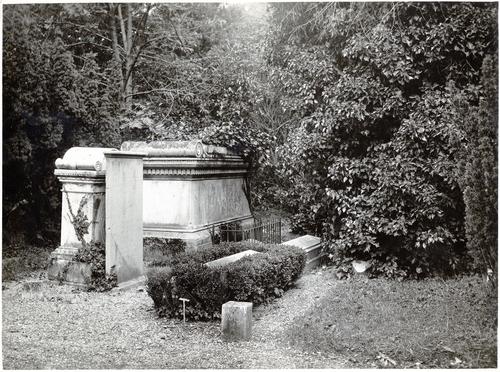 Genève, cimetière des Rois: tombe de Charles-Pictet de Rochemont