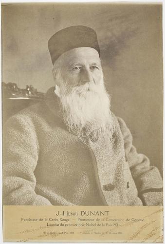 Portrait de J.-Henry Dunant