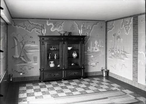 Vésenaz, maison Wieland: chambre