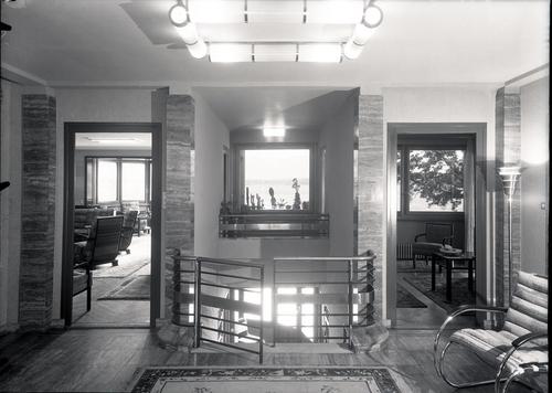 Vésenaz, maison Wieland: hall d'entrée