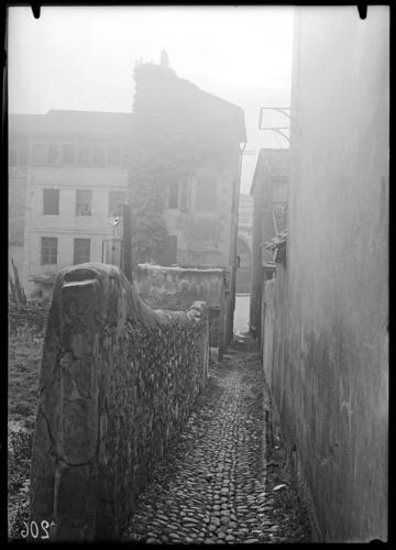 Genève, allée des Meuniers au quai du Seujet d'alors