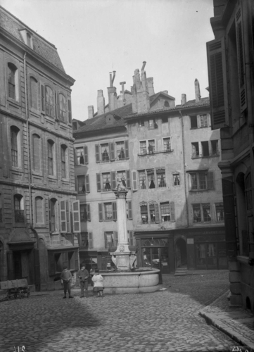 Genève, place du Grand-Mézel